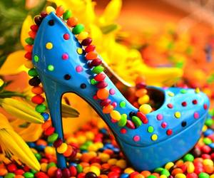 blue, candy, and colourful image