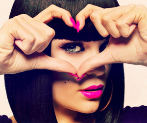 jessie j, heart, and pink image