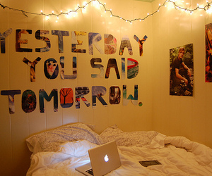 quote, room, and bedroom image