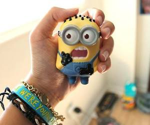 minions, cute, and lovely image