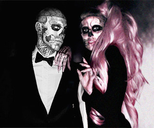 Lady gaga, born this way, and tattoo image