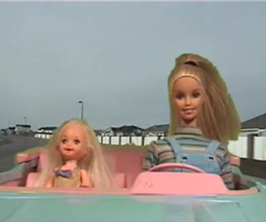 barbie, pastel goth, and girl image