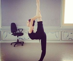 love ballet, flexibilidad, and pasion image