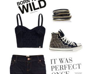 fashion, jeans, and Polyvore image