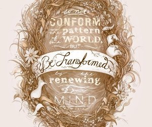 pretty, typography, and transformed image