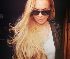 lindsay lohan, hair, and blonde image