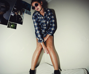 girl, grunge, and grungy image