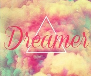 dreamer, Dream, and clouds image