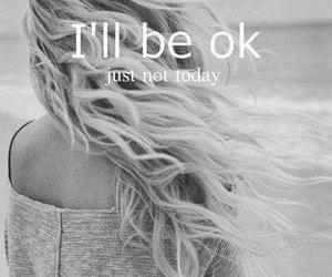 quotes, ok, and sad image