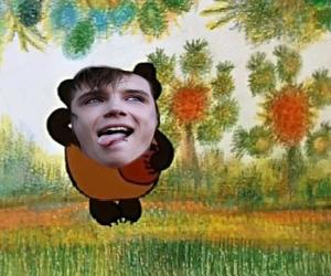 bear, singer, and bvb image
