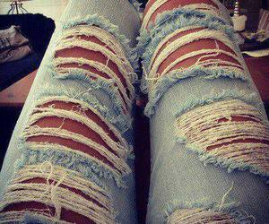 jeans, fashion, and cool image