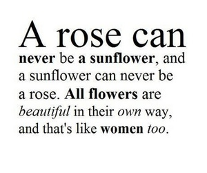 flowers, girls, and quotes image