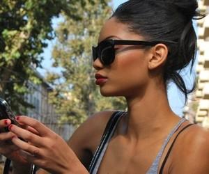girl, model, and Chanel Iman image