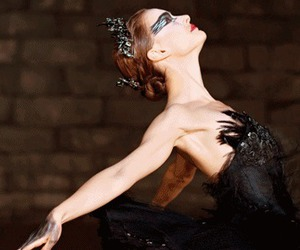 ballet, cisne negro, and beautiful image
