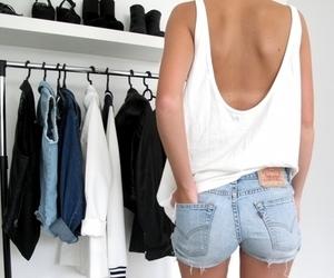 fashion, shorts, and clothes image