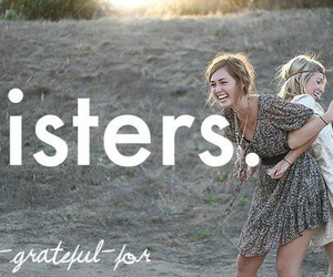 sisters, forever, and love image