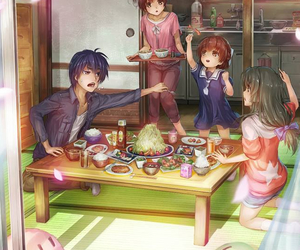 tomoya, nagisa, and ushio image