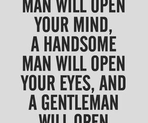 quotes, gentleman, and handsome image