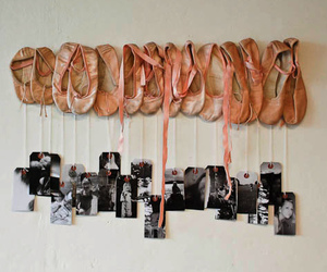 ballet, ballerina, and shoes image