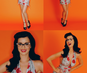 background, katy perry, and Pin Up image