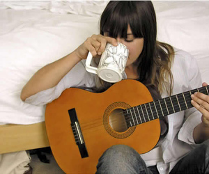 cat power and guitar image
