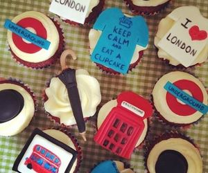 london and cupcake image