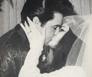 Elvis Presley, love, and kiss image