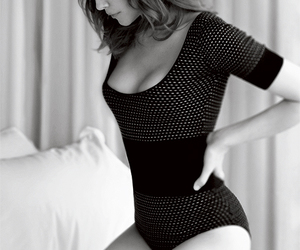 beautiful, black and white, and sexy image