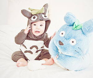 baby, totoro, and cute image