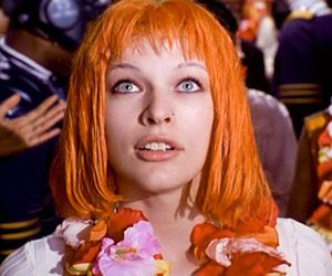 movie, orange hair, and Fifth Element image