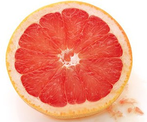 citrus, FRUiTS, and pink image