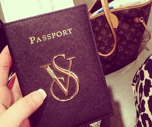 passport, vs, and Louis Vuitton image