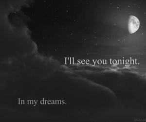 Dream, moon, and tonight image