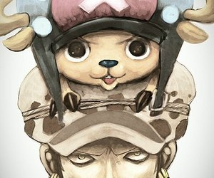 anime, chopper, and draw image