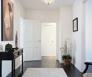 decor, space, and dining room image