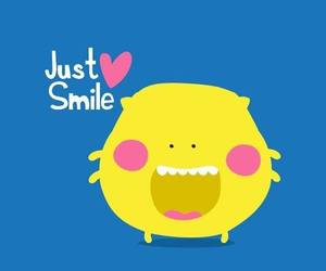 smile, cute, and yellow image