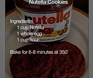 Cookies, diy, and nutella image