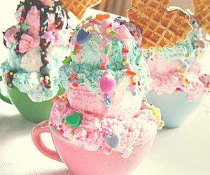 fofo, ice cream, and sorvete image