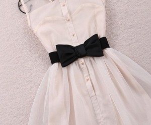 black bow, simple, and cute image