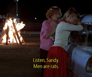 grease, romantic, and text image