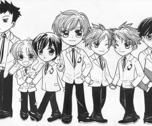 anime, ouran host club, and cute image