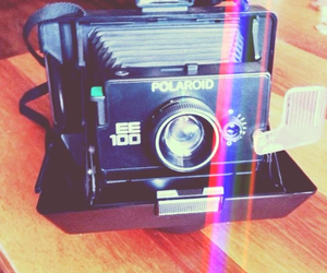 art, colors, and polaroid image