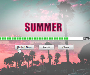 summer, restart, and pause image