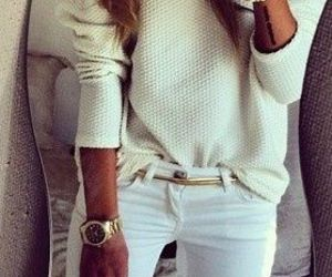 pretty, style, and woman image