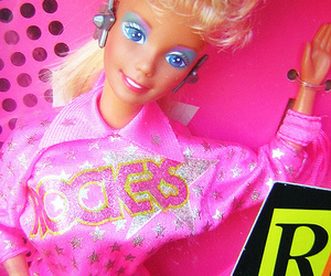 80's, barbie, and doll image