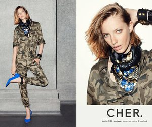 ginger, Milagros Schmoll, and model image