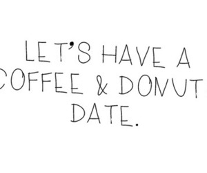 donuts, coffee, and date image