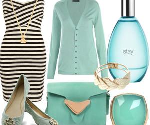 blue, dress, and kıyafet image