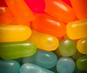 candy, colorful, and jelly beans image