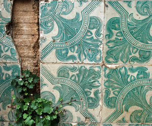 plants, tiles, and green image